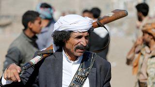 مقاتل حوثي في صنعاء