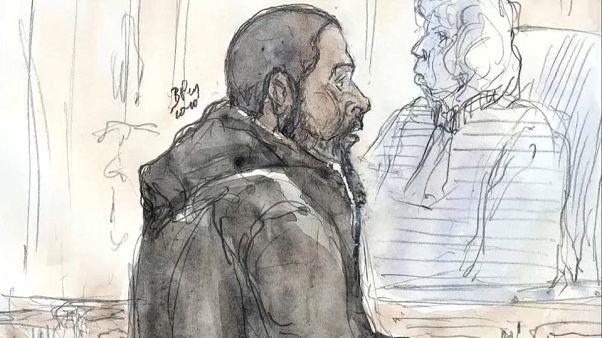 Image de Peter Cherif lors d'un procès