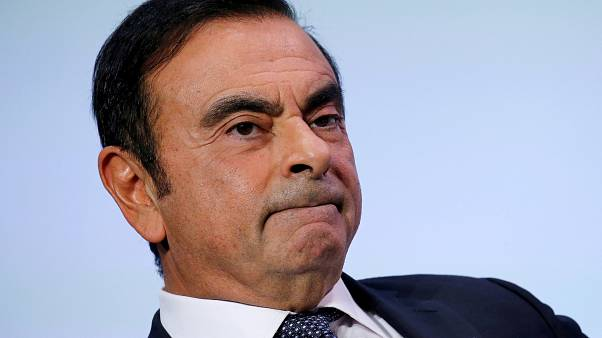 Carlos Ghosn on October 1, 2018.