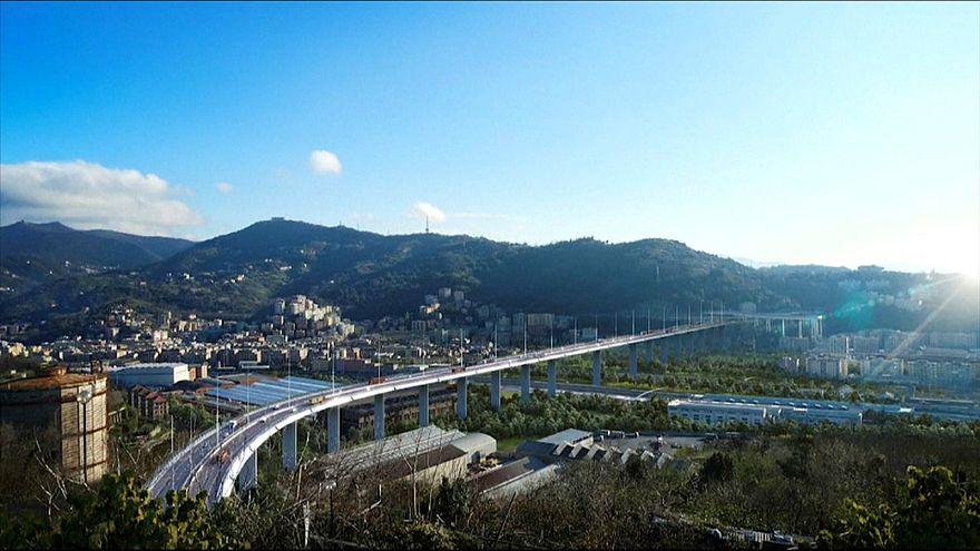 Le ombre del ponte Morandi, le luci del ponte di Piano