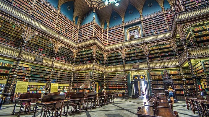 Río de Janeiro atesora una de las más bellas bibliotecas del mundo