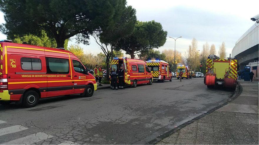 More than a dozen injured after metro train partially derails in Marseille
