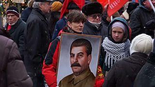 """Российские коммунисты отметили день рождения """"вождя народов"""""""