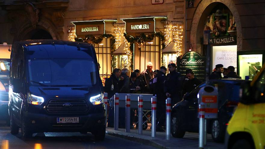 Schießerei in Wien: Fahndung nach Mafia-Täter?