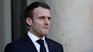 Macron cierra un 2018 marcado por la mayor crisis política de todo su mandato