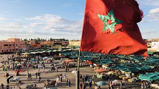 Fas'ın Marakeş kentinde Jemaa El-Fna Meydanı  Foto: Bahtiyar Küçük