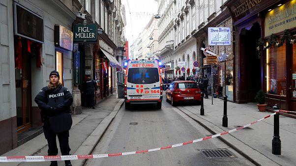 Viyana'nın merkezinde silahlı saldırı