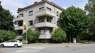 The building where Vahamaki allegedly rented premises in Helsinki