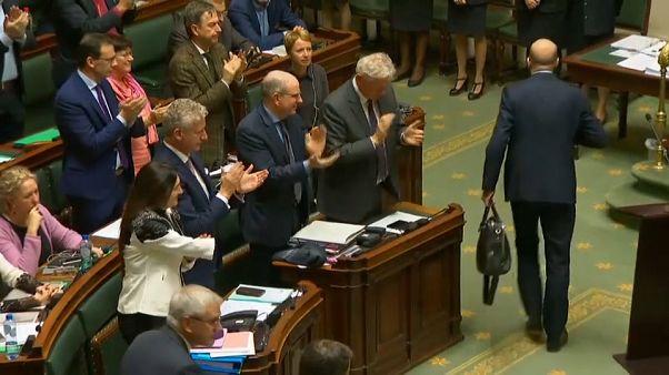 Der belgische König hat den Rücktritt des Ministerpräsidenten angenommen