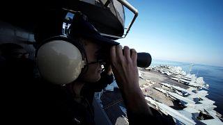 اولین ناو هواپیمابر از زمان خروج آمریکا از برجام وارد خلیج فارس شد