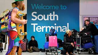 British police make two arrests after drone disrupts major airport