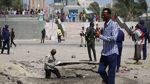 Somali'de bomba yüklü araç patlatıldı: Ölü ve yaralılar var