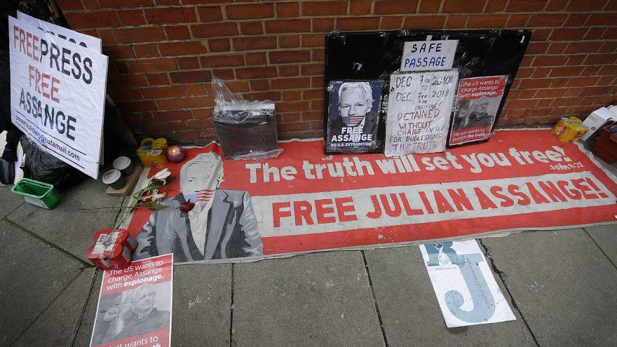 الأمم المتحدة تطالب بريطانيا بالكفّ عن محاولة توقيف جوليان أسانج