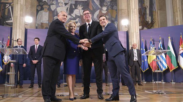 Α. Τσίπρας: «Να γίνουν τα Βαλκάνια ξανά το επίκεντρο της ειρήνης»