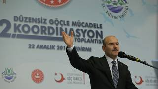 İçişleri Bakanı Soylu: Fırat Kalkanı ve Zeytin Dalı'ndan sonra 292 bin Suriyeli geri döndü