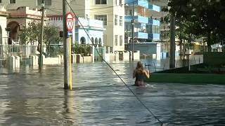 Überschwemmung in Kuba