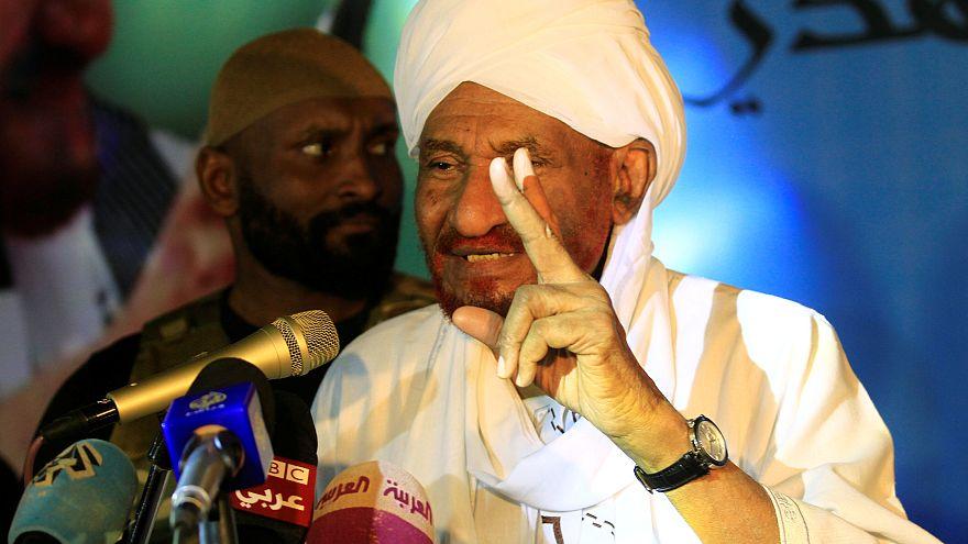 المعارض السوداني صادق المهدي