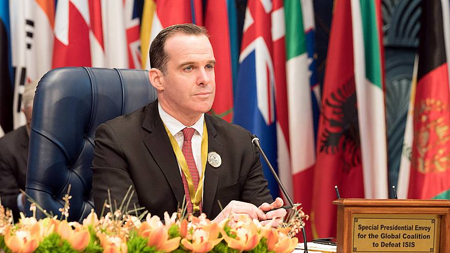 Brett McGurk resigned on Friday