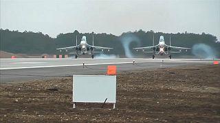 Russland verlegt über 1 Dutzend Kampfjets auf die Krim
