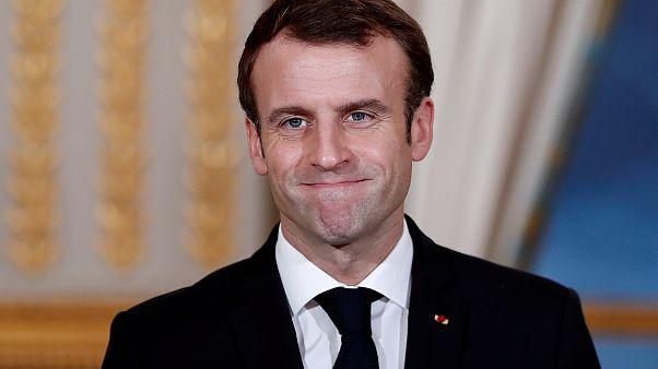 Frankreichs Präsident Macron: Truppenbesuch im Tschad
