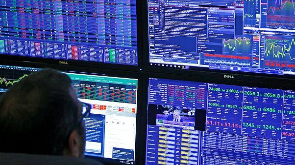 market data at CMC Markets in London