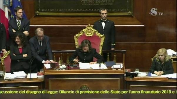 Ιταλία: Η Γερουσία ενέκρινε τον προϋπολογισμό
