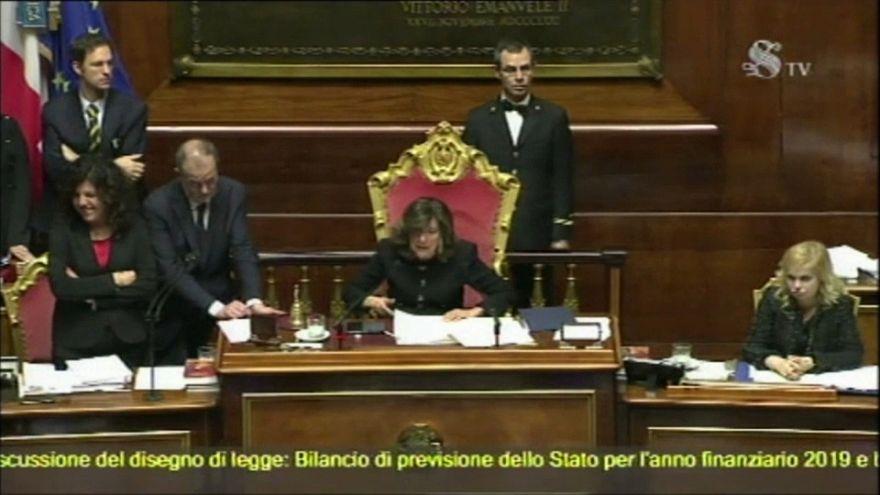 Itália: Orçamento do Estado aprovado pelo senado