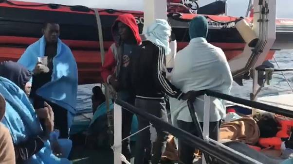 NGO ship with more than 300 migrants on board stranded on high seas
