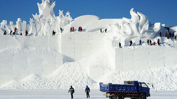 Der Eisnebel von Jiagedaqi