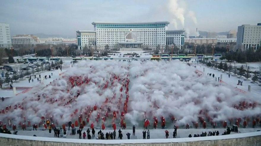 Праздник зимнего солнцестояния на севере Китая