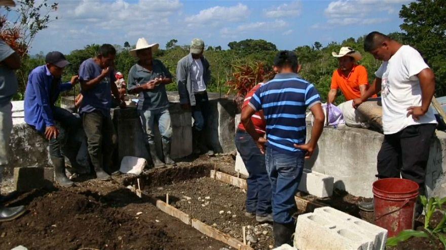 Preparan el entierro de la niña guatemalteca muerta en EEUU