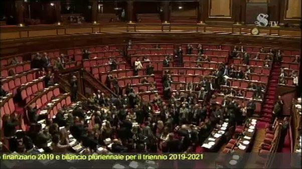 Megszavazta a római szenátus a módosított költségvetési csomagot