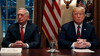 Trump, istifa eden ABD savunma bakanı görevi planlanandan erken bırakacağını açıkladı