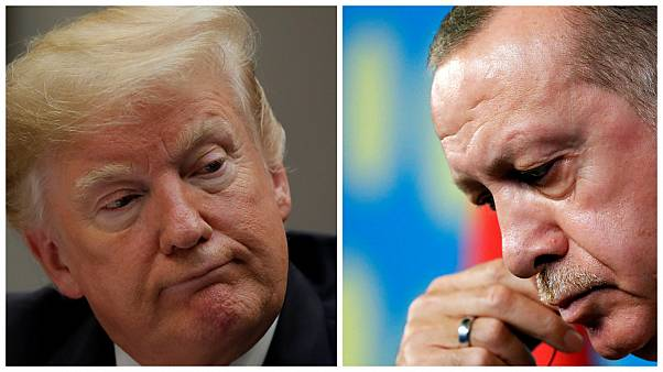 Erdoğan Trump'la Suriye'yi görüştü