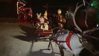 Санта-Клаус отправился в путешествие
