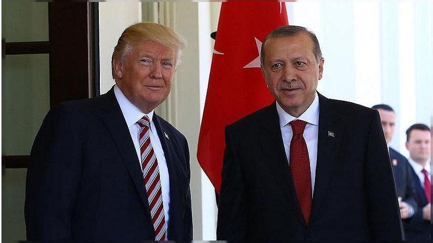 ABD Başkanı Trump: IŞİD'in kalanını Erdoğan temizleyecek