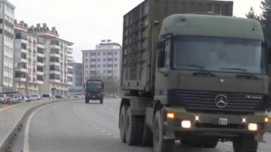 Video | Suriye sınırına askeri takviye devam ediyor