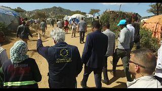Евросоюз поможет внутренне перемещённым эфиопам