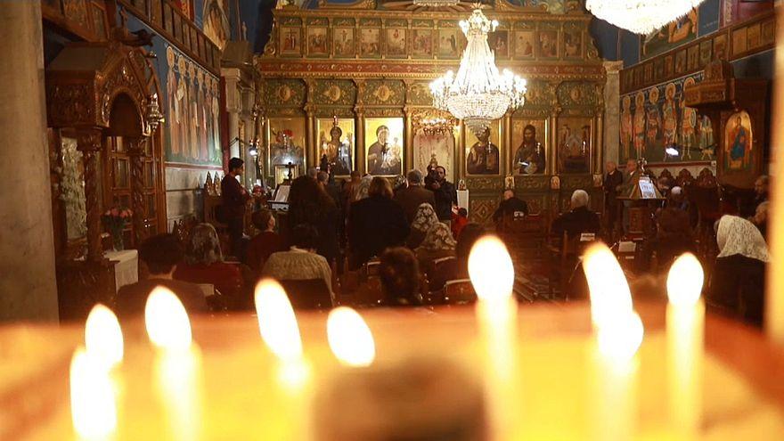 Video | Abluka altındaki Gazze Şeridi'nde Hristiyanların Noel kutlaması