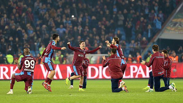 Derbilerde boyun eğmeyen Trabzonspor son 8 yılın en iyi pozisyonunda