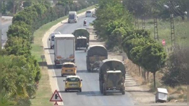Video | Suriye'de askeri hareketlilik: Özgür Suriye Ordusu Menbiç'e ilerliyor