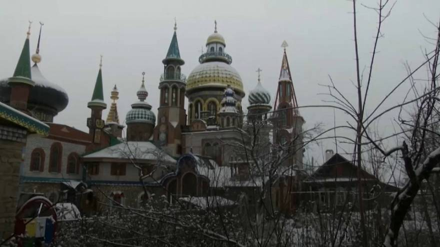 the church of all religions in russia euronews
