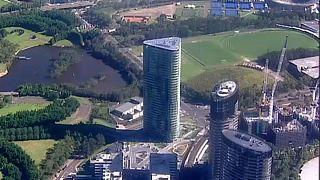 Megrogyott egy nemrég épített toronyház Sydney-ben