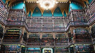 کتابخانه ریودوژانیرو یادآور داستان هری پاتر