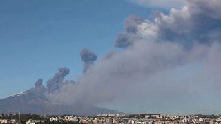 Sciame sismico attorno all'Etna