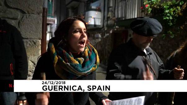 Weihnachtstradition im Baskenland