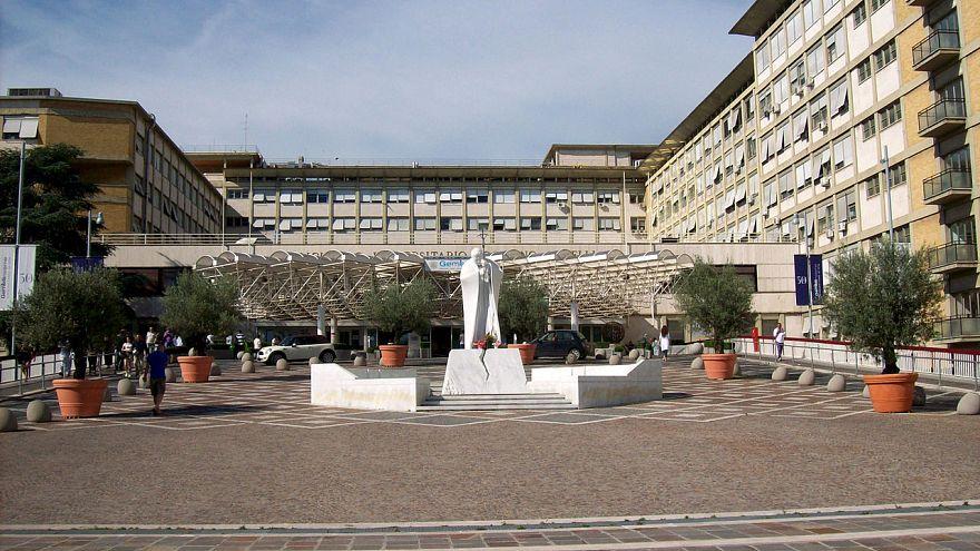Gemelli hospital in Rome