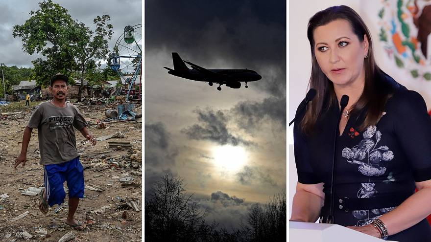 Indonesia tsunami; Gatwick drones; and Mexico crash: Six stories to know about today