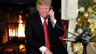 Amarga Navidad en la Casa Blanca