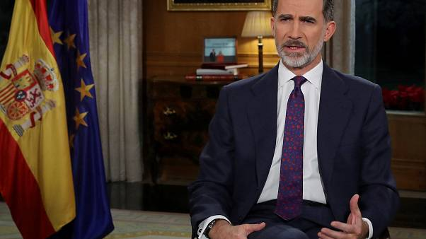 """El Rey de España insta a """"asegurar la convivencia"""" y evitar """"el rencor y el resentimiento"""""""